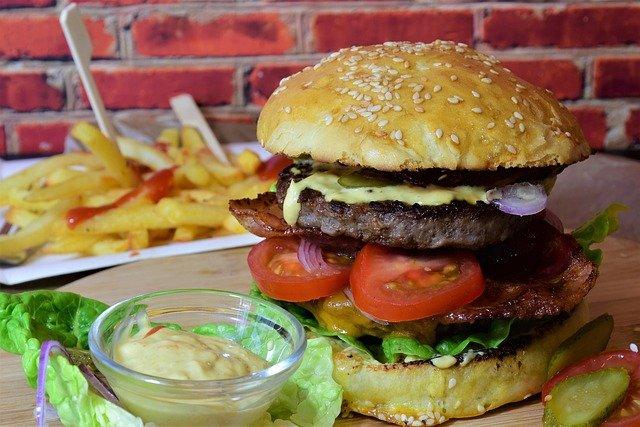 Hamburger für zwei